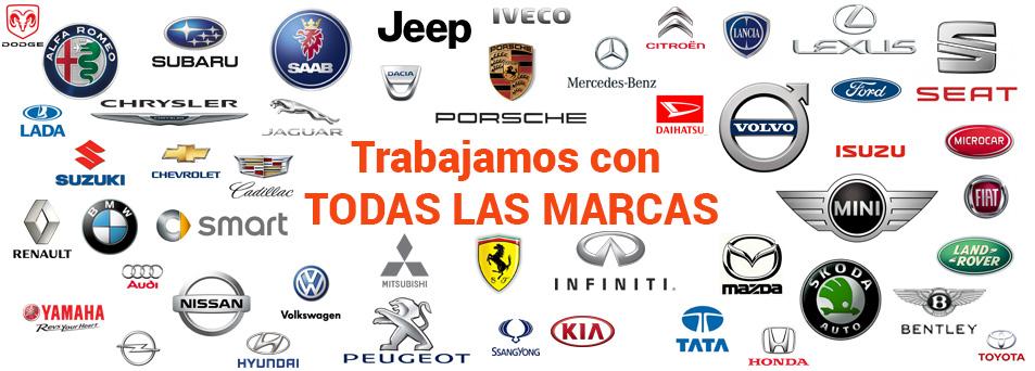 todas las marcas de coches