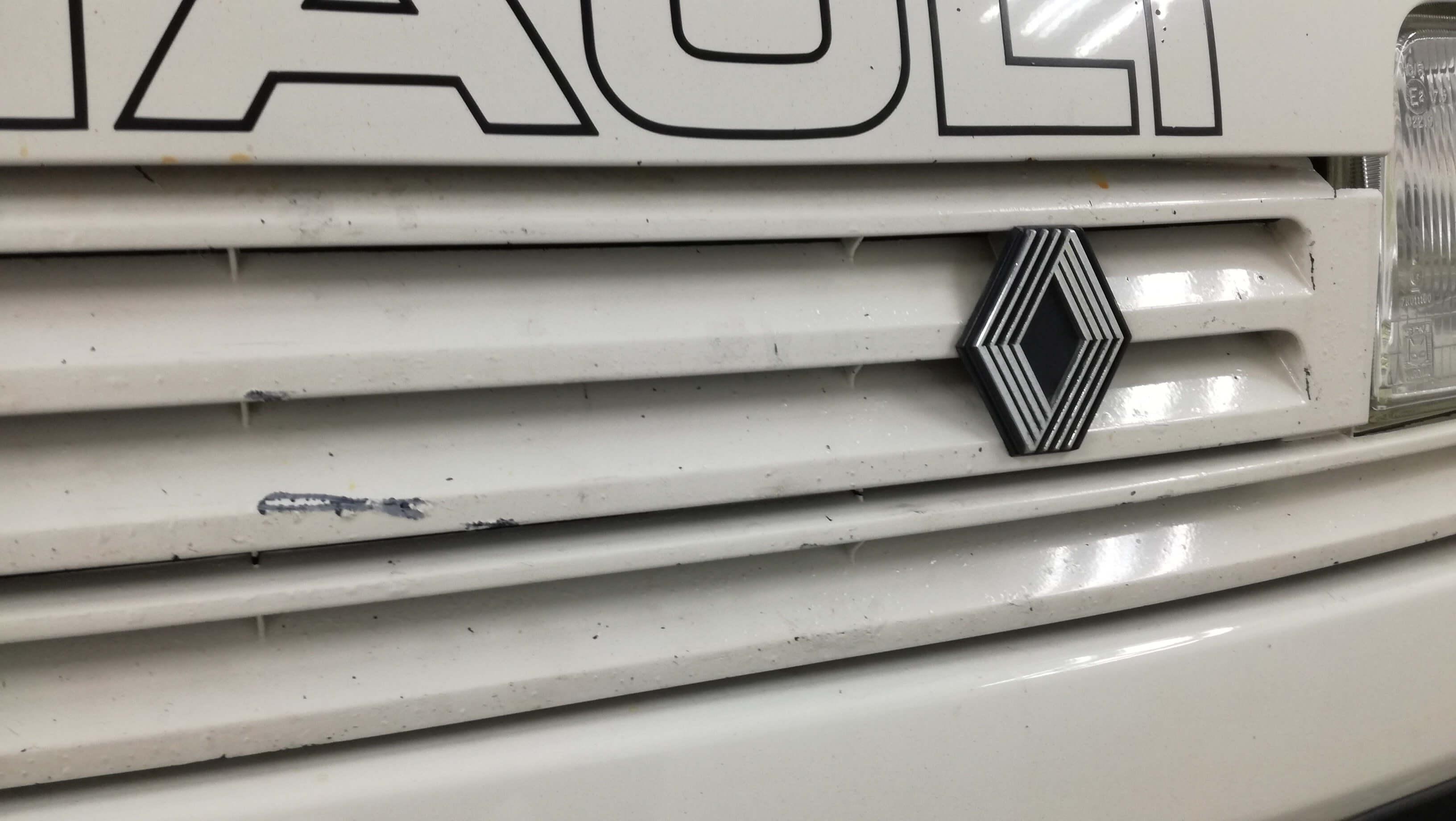 logotipo del renault 5 gt turbo