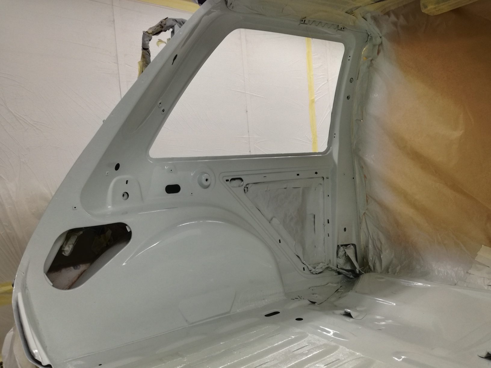 r5 gt turbo habitaculo pintado