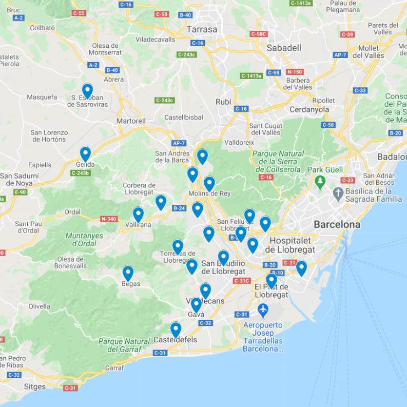 mapa retamacars