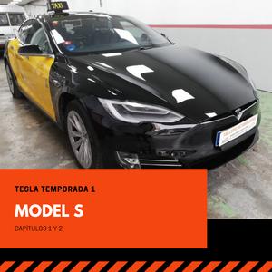 Reparación de plancha y pintura del Tesla Model S